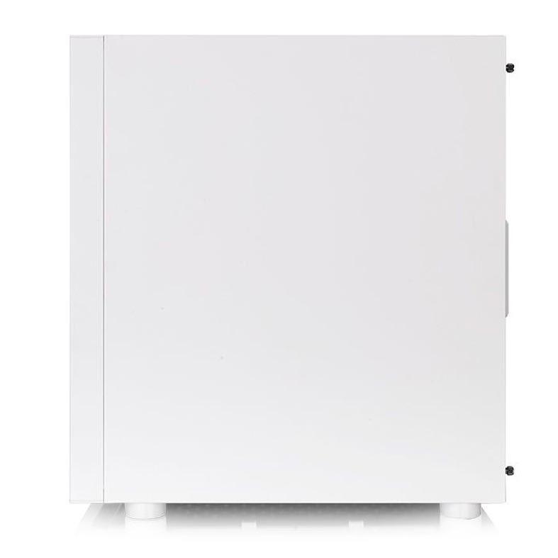 Gabinete Thermaltake H200 Tg Rgb Snow Edition Lateral Vidro - CA-1M3-00M6WN-00
