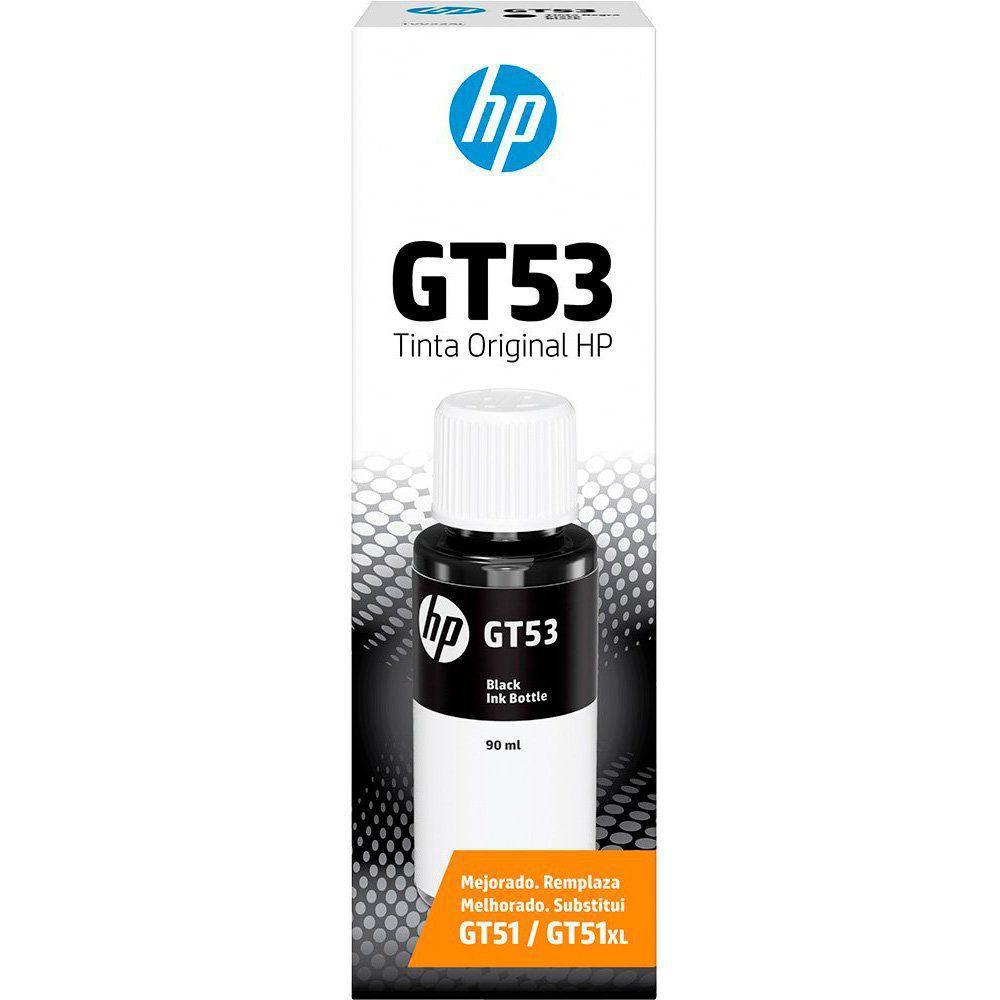 Garrafa de tinta GT53 preto 1VV22AL HP
