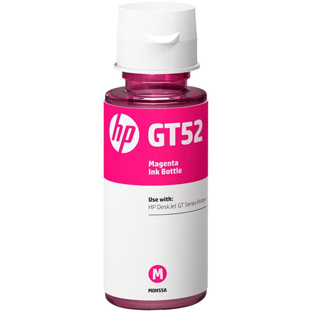 Garrafa HP GT52 Magenta original (M0H55AL) Para HP Deskjet 5822