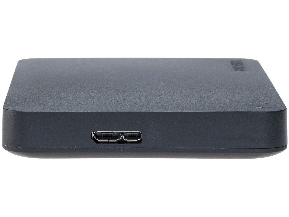 HD Externo Portátil Toshiba Canvio Basics, 1TB, USB 3.0, Preto - HDTB410XK3AA