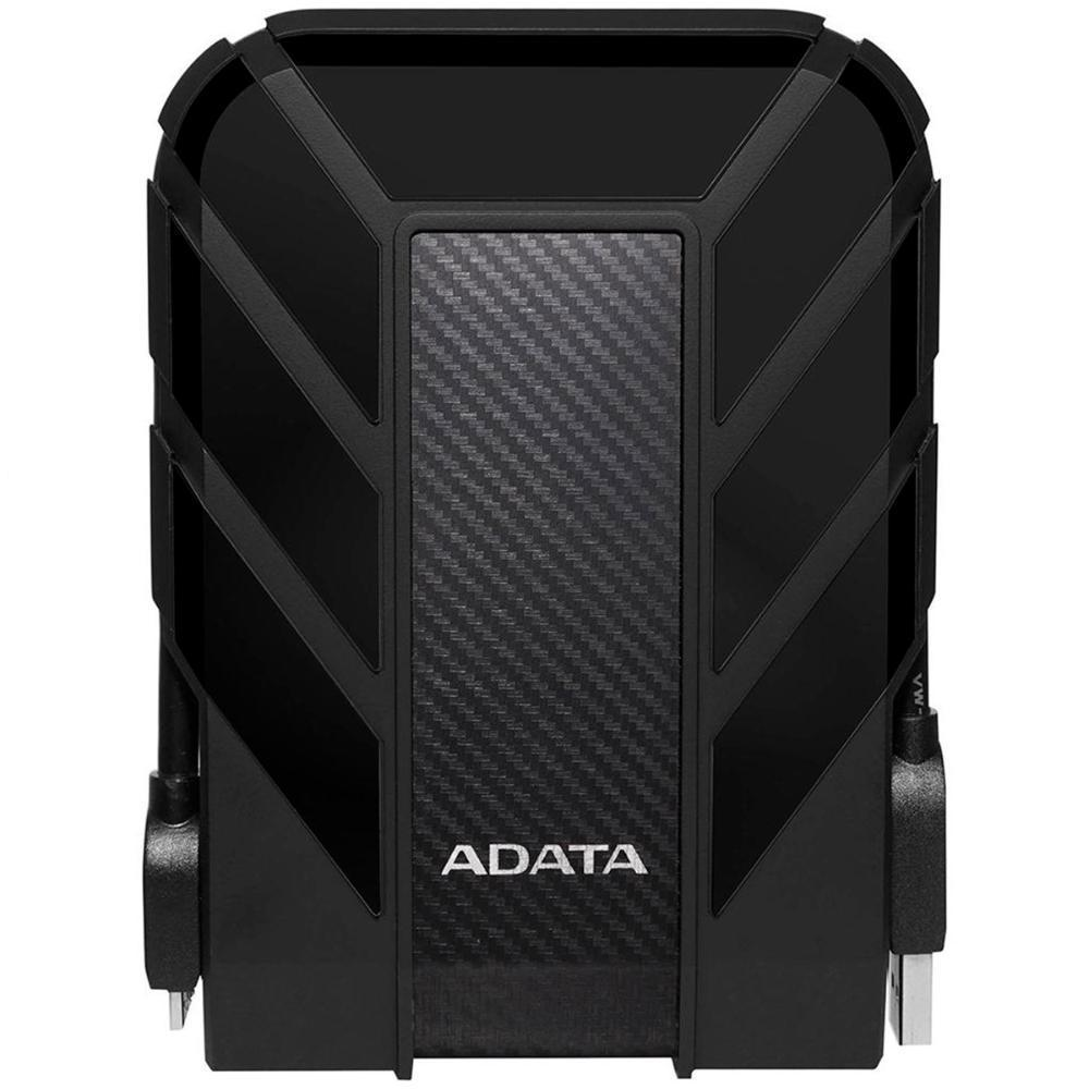 HD Externo Portátil 1TB Adata HD710 Pro - USB 3.2 - À Prova D`água - Anti-Queda - AHD710P-1TU31-CBK
