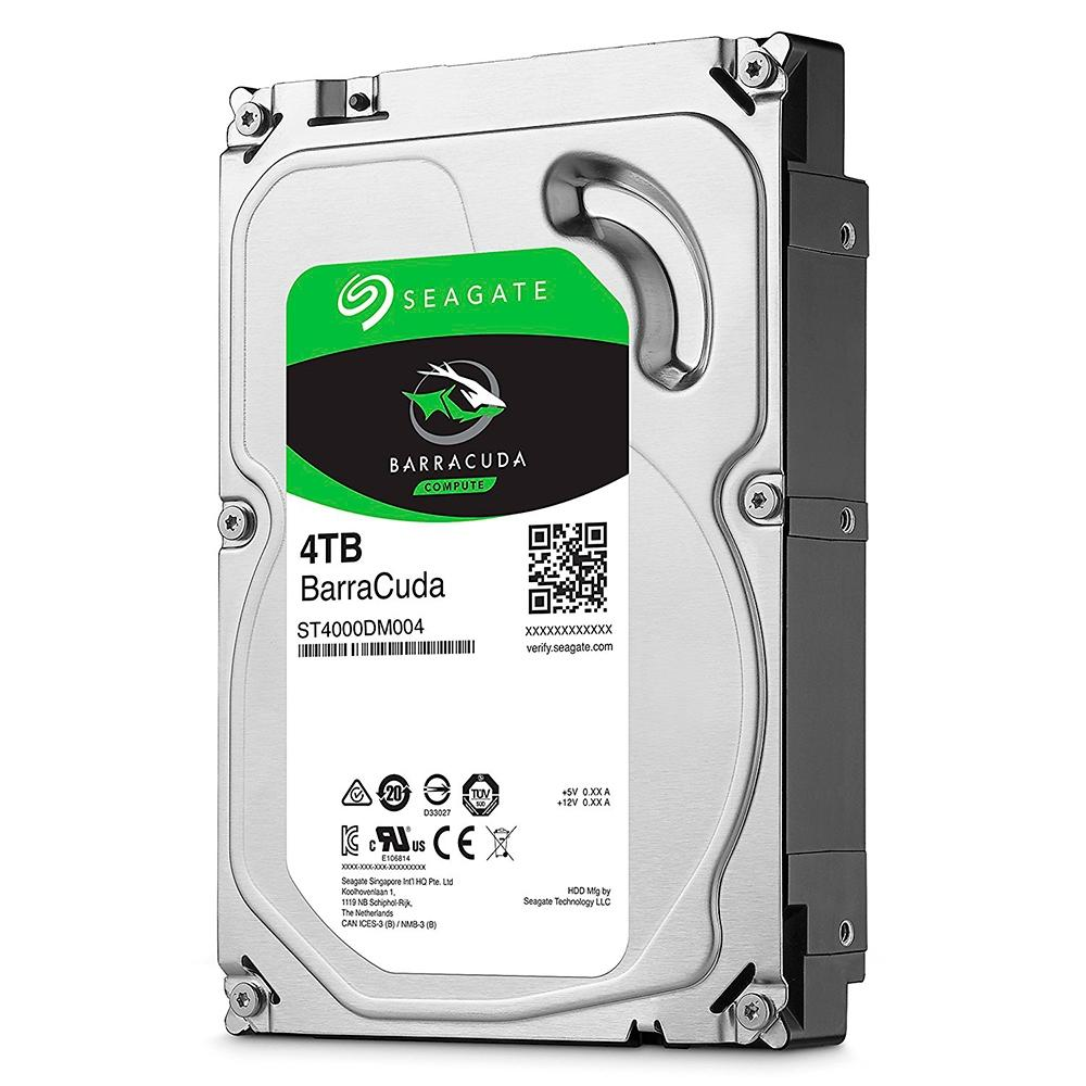 "HD Seagate BarraCuda, 4TB, 3.5"", SATA - ST4000DM004"