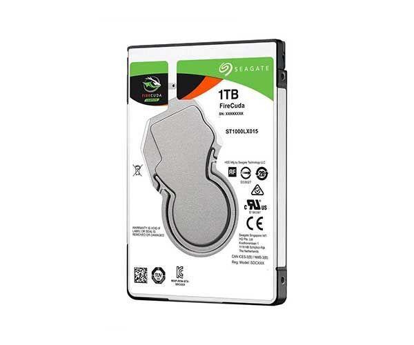 HD Seagate p/Notebook Firecuda Híbrido 1TB (8GB SSD) Sata 6Gb/s - ST1000LX015