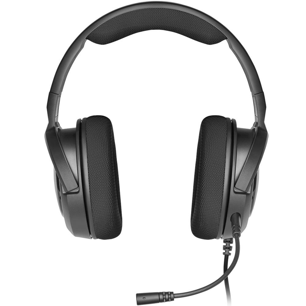 Headset Gamer Corsair HS35 Stereo, PC, PS4, Xbox, Drivers 50mm, Carbono - CA-9011195-NA