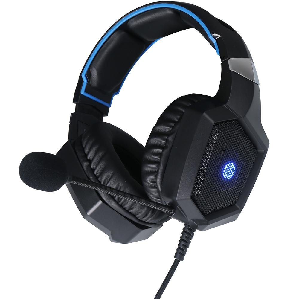 Headset Gamer HP H320GS, LED, 7.1 Surround, Drivers 50mm - 8AA14AA#ABM