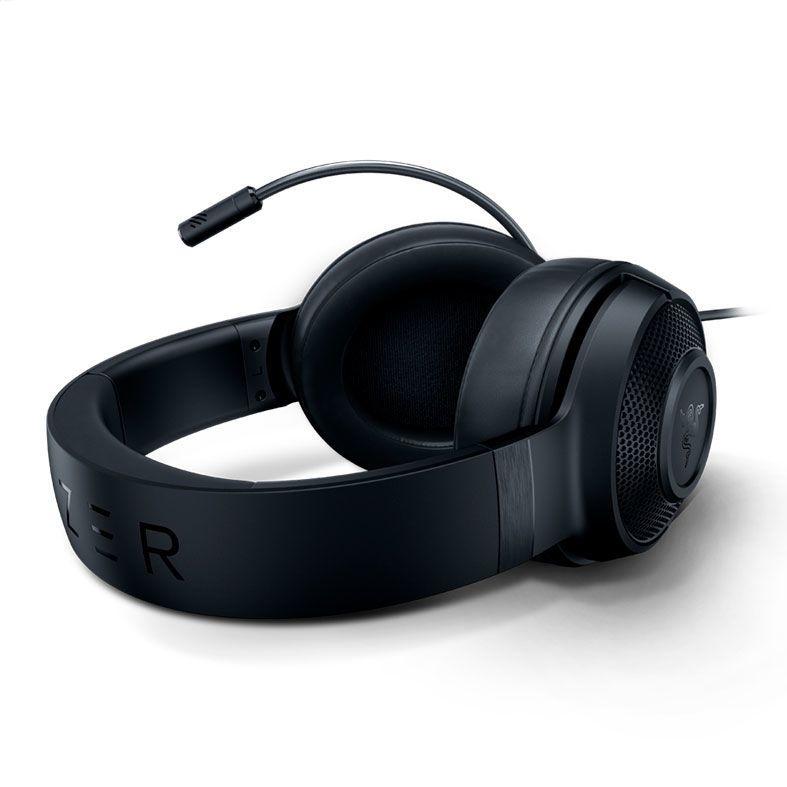 Headset Gamer Razer Kraken X USB, LED Verde, Som Surround 7.1, Drivers 40mm - RZ04-02960100-R3U1