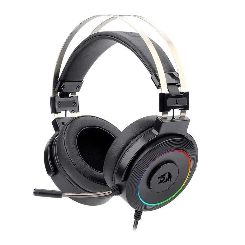 Headset Gamer Redragon Lamia 2, RGB, 7.1 Som Surrond, USB, Drivers 40mm, Preto - H320RGB-1