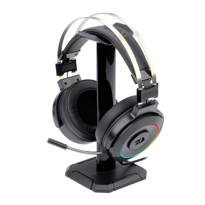 Headset Gamer Redragon Lamia 2, RGB, 7.1 Som Surrond, USB, Drivers 40mm, Preto - H320RGB-1