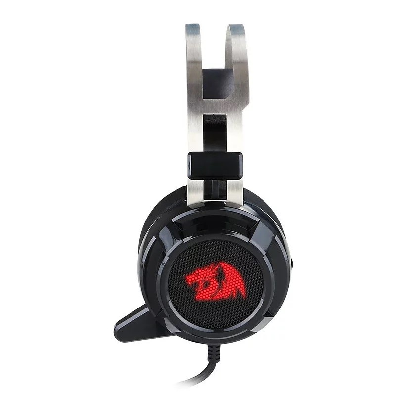 Headset Gamer Redragon Siren 2, USB, Black - H301USB-1