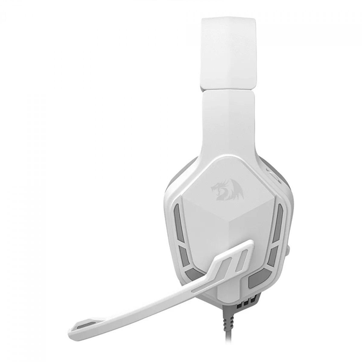 Headset Gamer Redragon Themis 2, P2, Branco - H220W-N