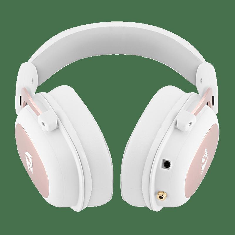 Headset Gamer Redragon Zeus 2, 7.1, USB, Branco - H510W