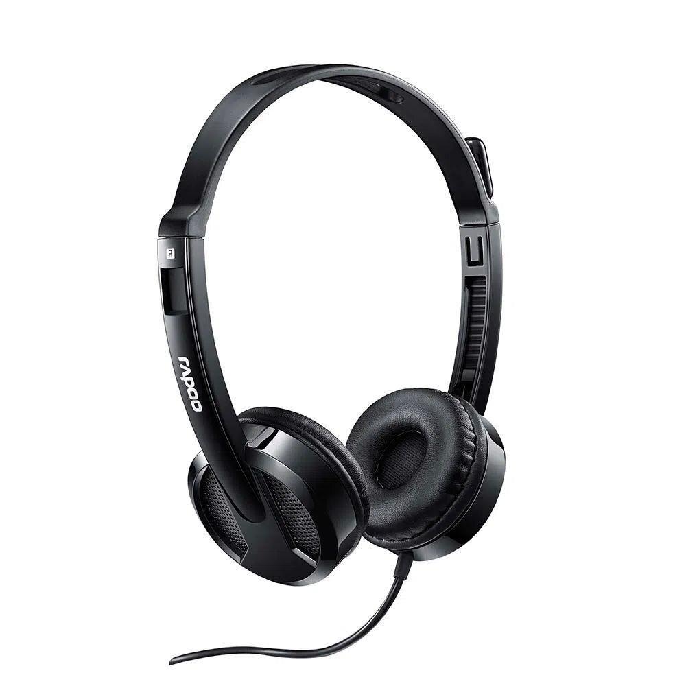 Headset Multilaser Rapoo, USB, Preto, H120 - RA020