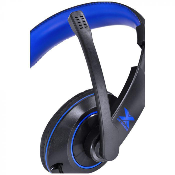 Headset V.Blade II VX Gaming Preto/Azul - Vinik 29379