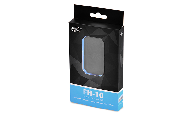 HUB Controlador de FAN Deepcool 10 portas - DP-F10PWM-HUB