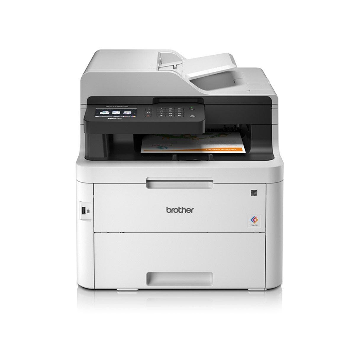 Impressora Multifuncional Brother Laser Color L3750CDW, Preta - MFC-L3750CDW