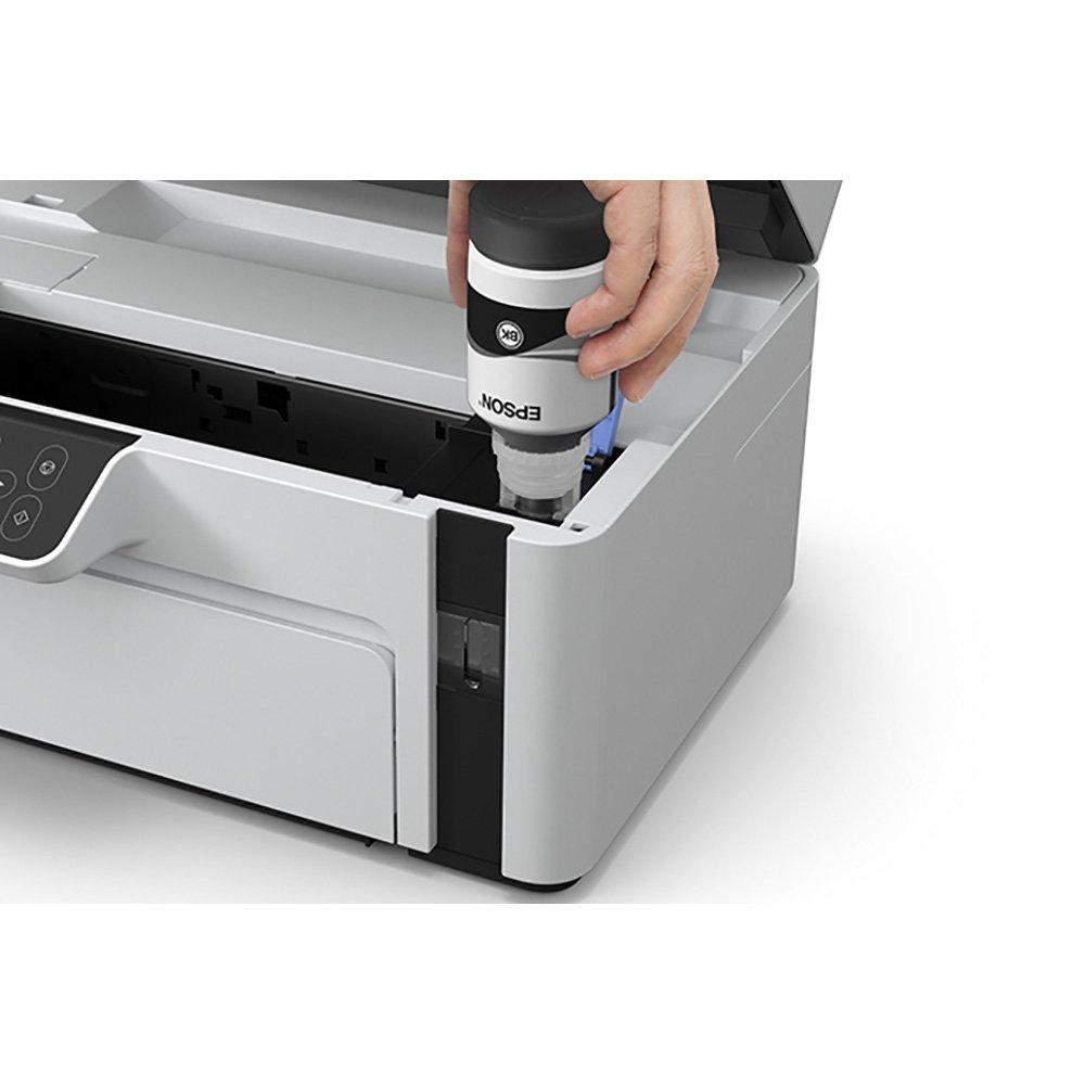 Impressora Multifuncional Epson EcoTank M2120, Jato de Tinta - C11CJ18302