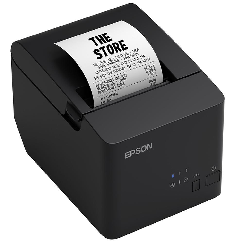 Impressora Térmica Epson TM-T20X, Não Fiscal, USB, Guilhotina - C31CH26031