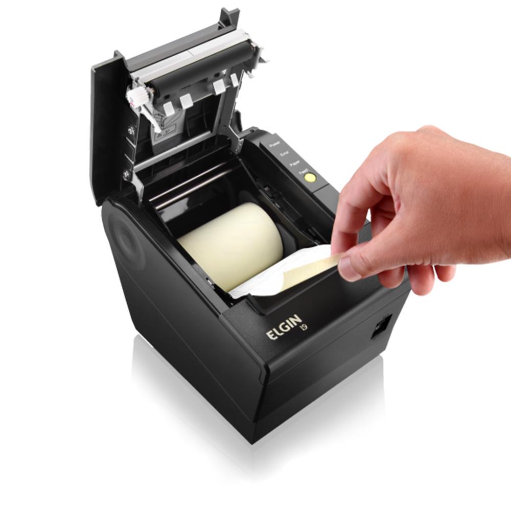 Impressora Térmica Não Fiscal Elgin i9 USB, Ethernet, Serial e Guilhotina - 46i9USECKD01