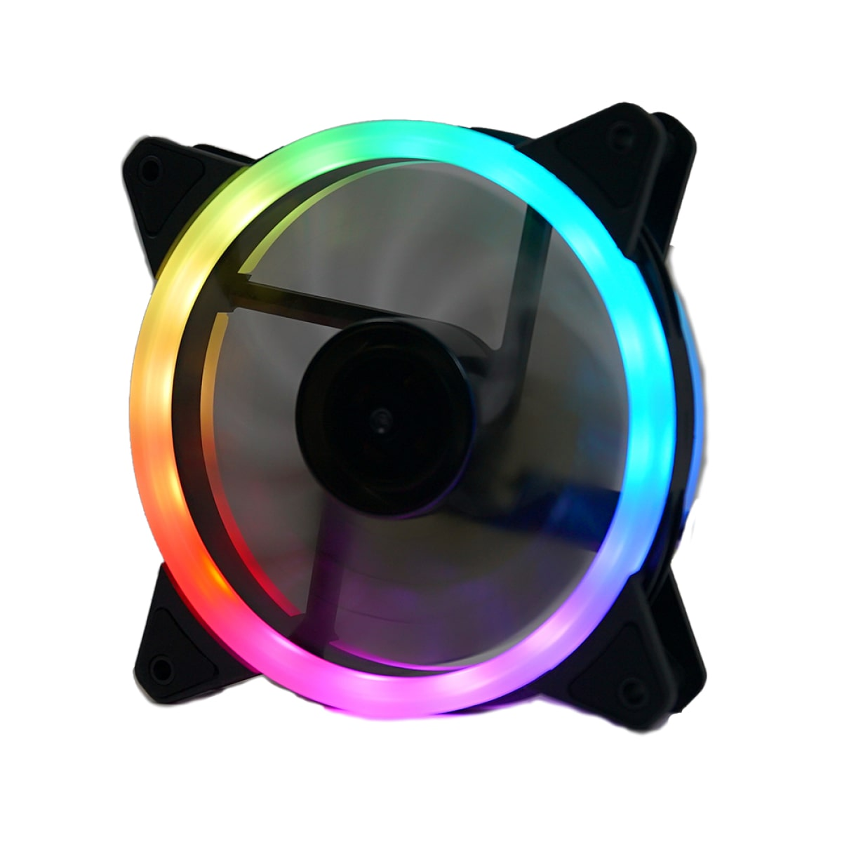 Kit Fan com 3 Unidades Redragon F011, RGB, 120mm - F011