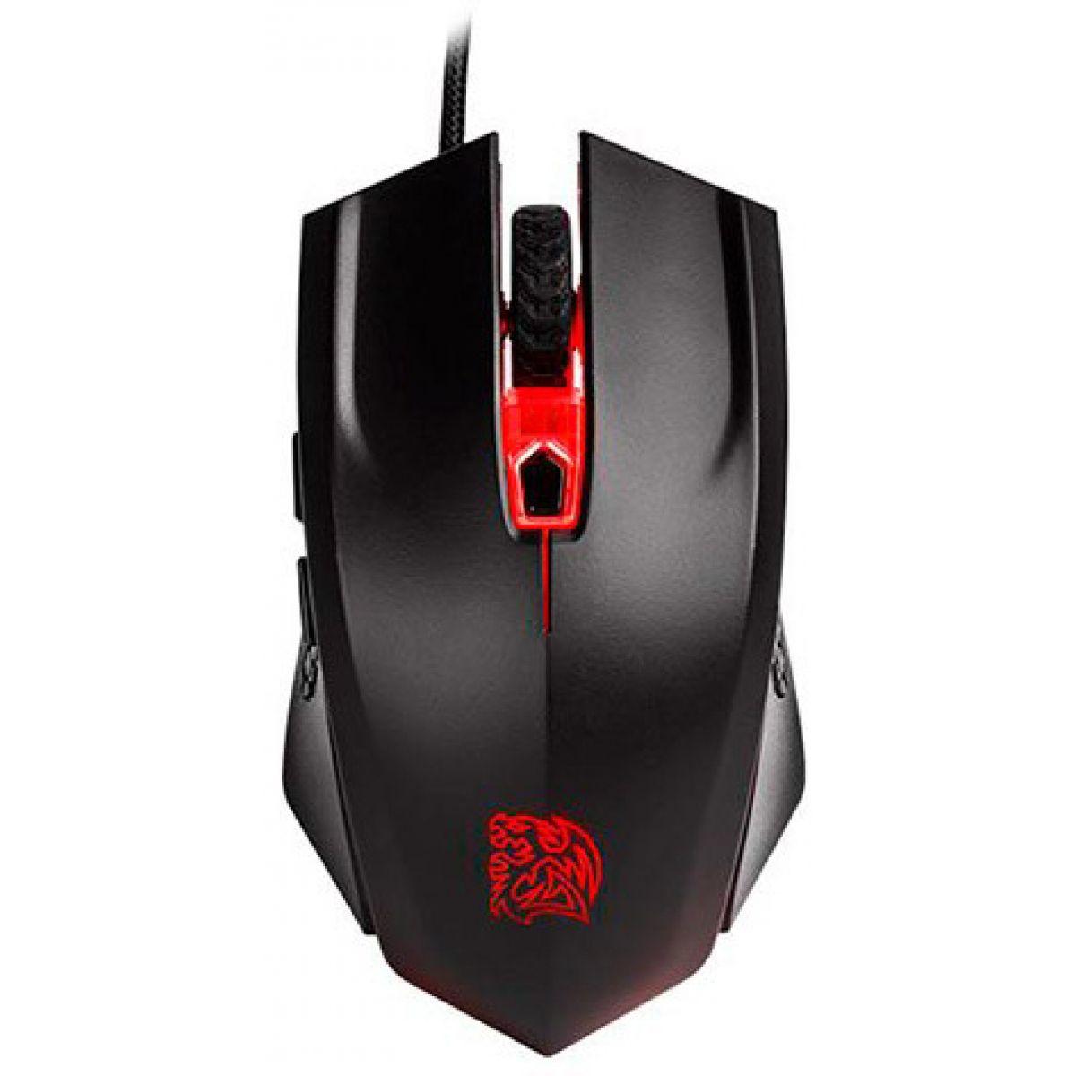 Kit Gamer Mouse + Mouse PAD Thermaltake TT ESPORTS Talon X RGB 3200 DPI MO-CPC-WDOOBK-01