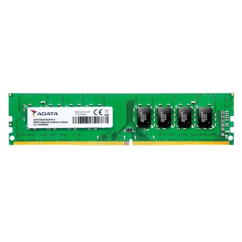 Memória Adata 8GB 2666MHz DDR4 CL19 AD4U266638G19-S