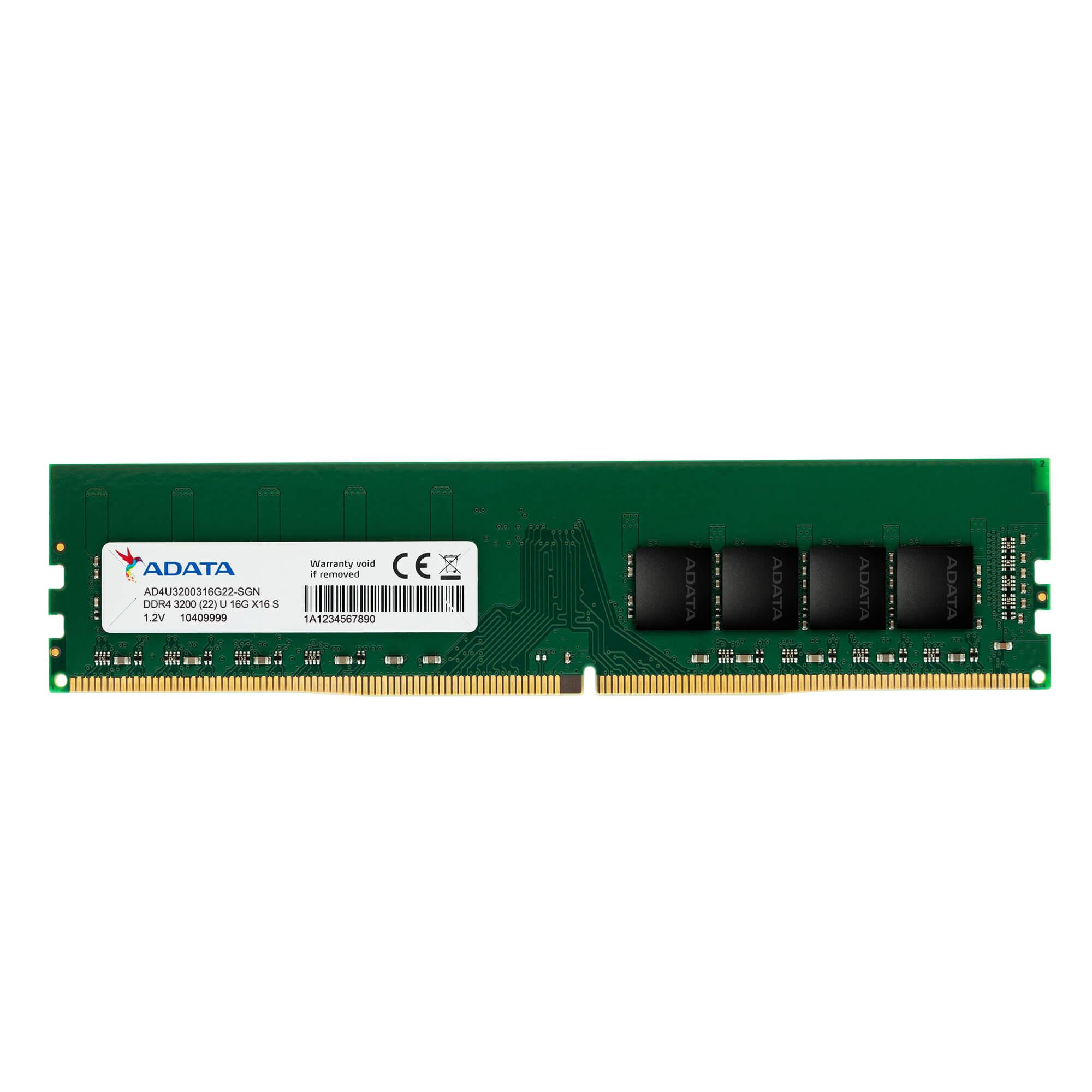 Memoria Adata para PC, 8GB, 3200MHz, DDR4 - AD4U320038G22-SGN