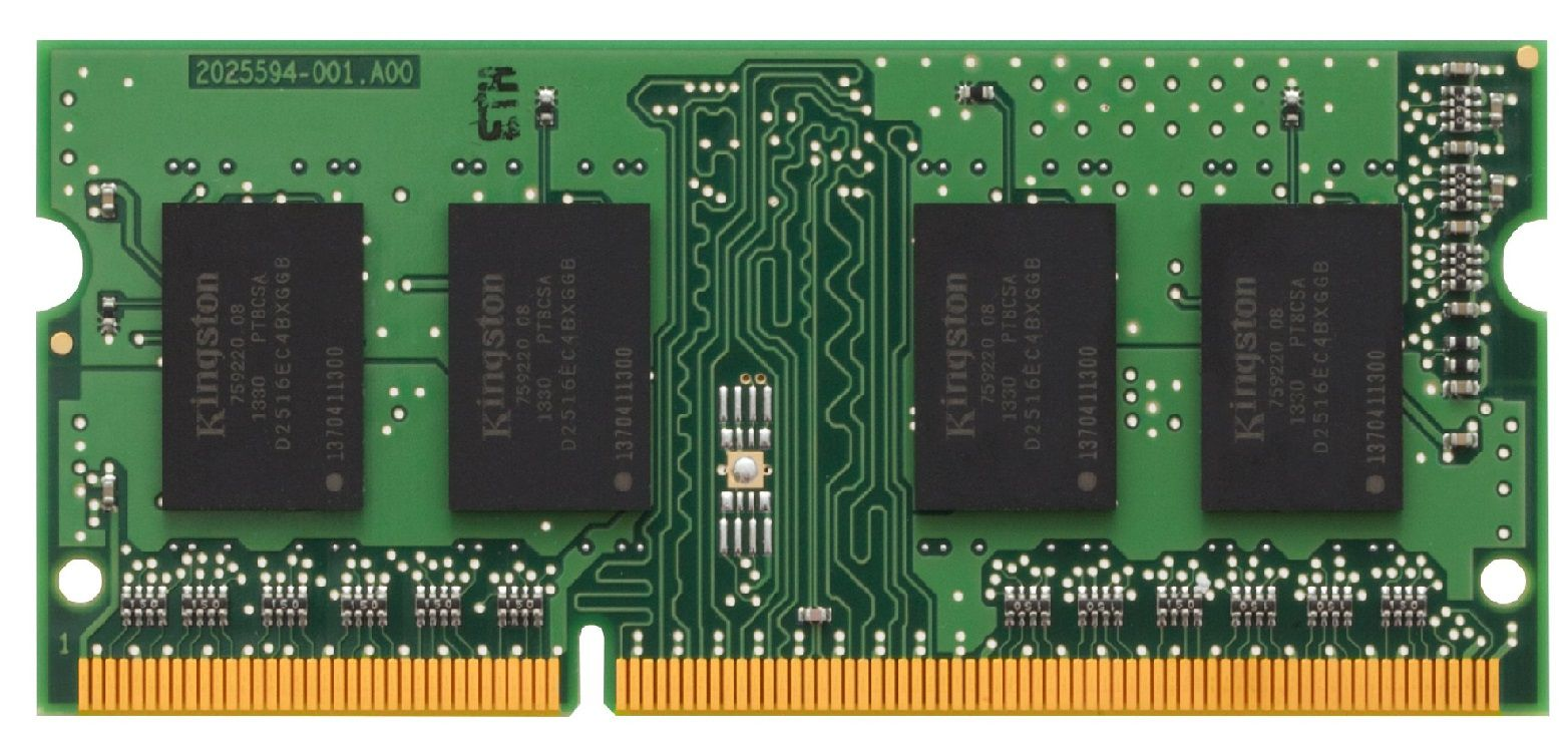 Memória Kingston de 4GB DDR3 1600Mhz  para notebook - KCP316SS8/4