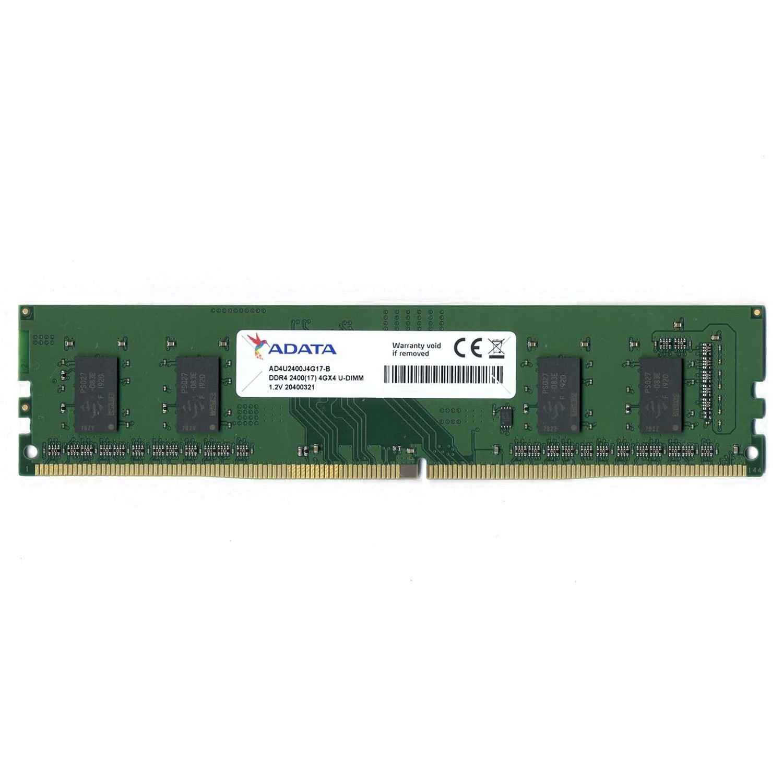 Memória para PC Adata, 4GB, DDR4, 2400MHz - AD4U2400J4G17-B