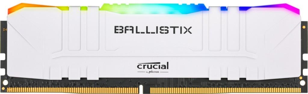 Memoria para PC Crucial Ballistix RGB, 8GB, DDR4, 3000MHz - BL8G30C15U4WL