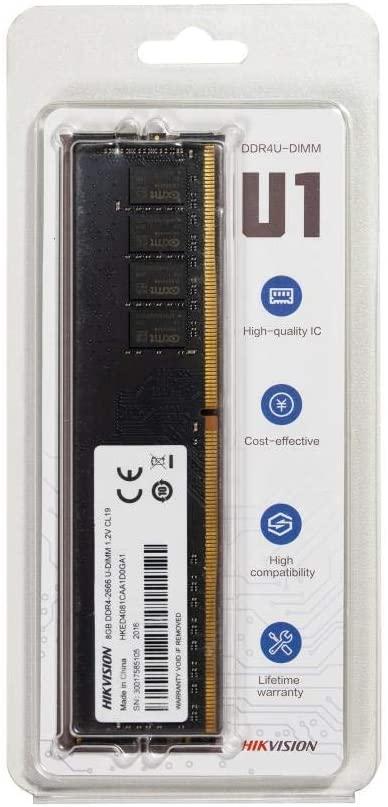 Memória Patriot Signature 8GB, 2400MHz, DDR4, CL17 - PSD48G240081