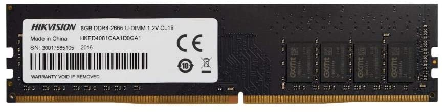 Memória para PC Hikvision, 8GB, DDR4, 2666MHz - HKED4081CAA1D0GA1