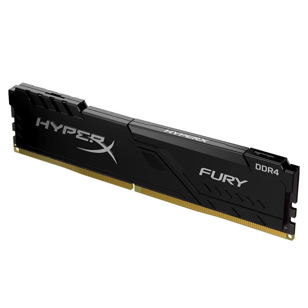 Memória para PC HyperX Fury DDR4 16GB, 2400MHz, CL15, UDIMM - HX424C15FB4/16