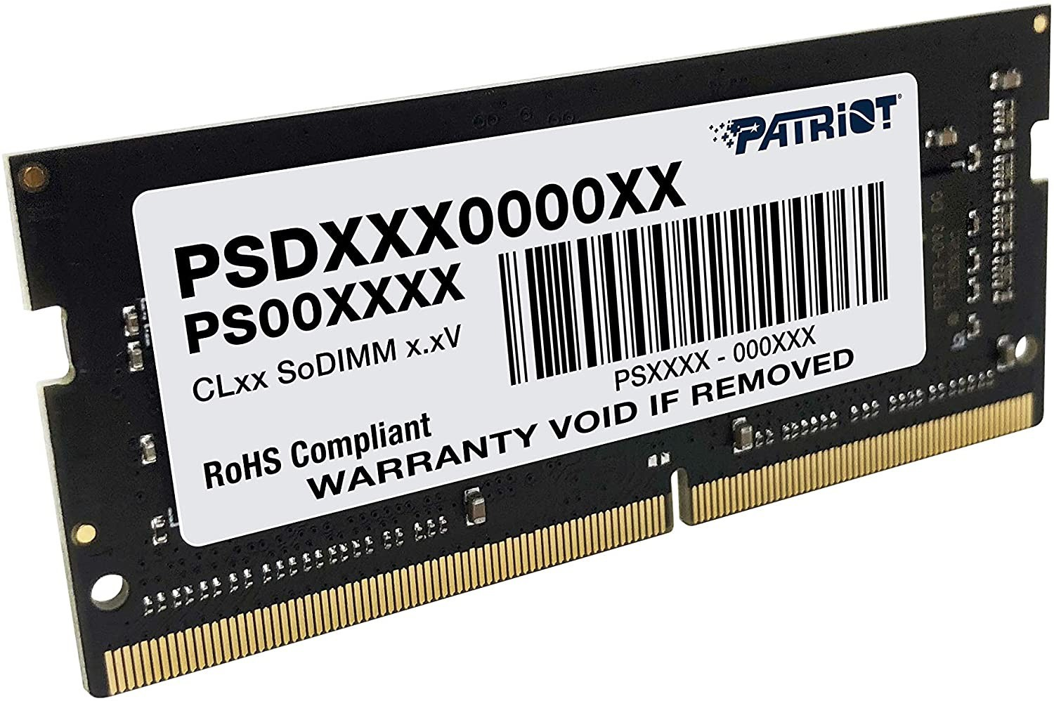 Memoria Patriot para Notebook, 4GB, 2400MHz, DDR4 - PSD44G240082S