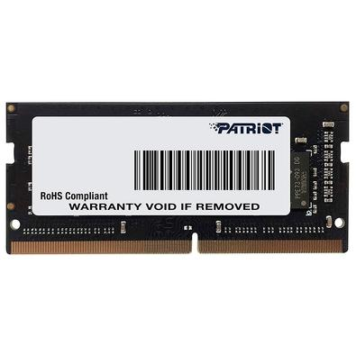 Memória Patriot Signature 8GB (1x8GB), 2666MHz, DDR4, para Notebook, CL19 - PSD48G266681S