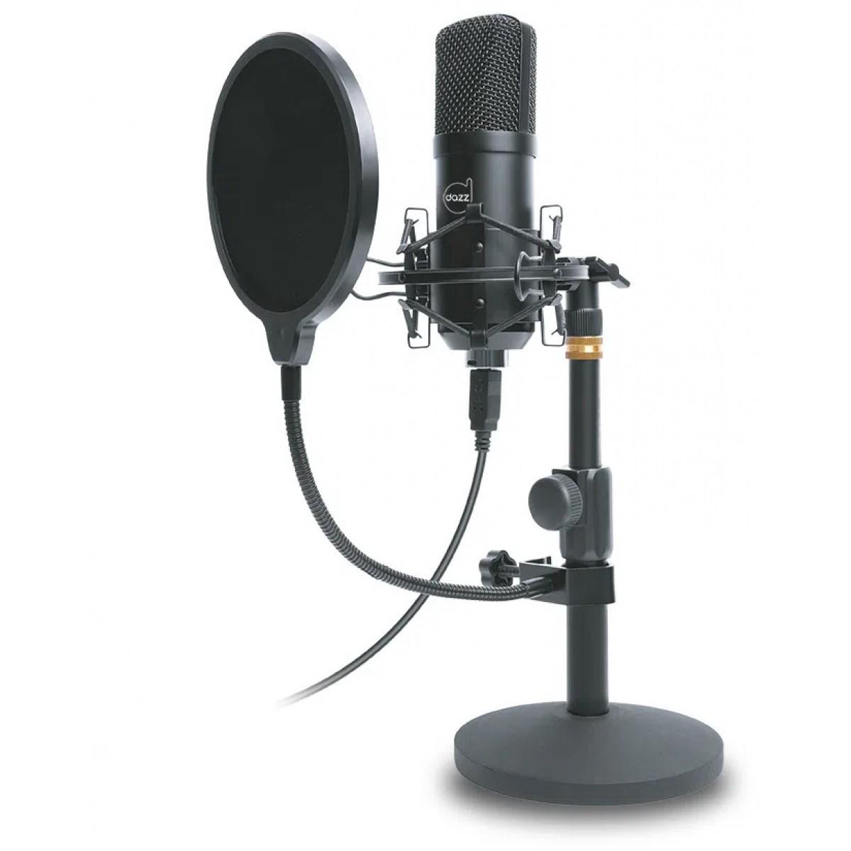 Microfone Gamer Dazz Broadcaster Pro, USB 2.0 - 601456-8