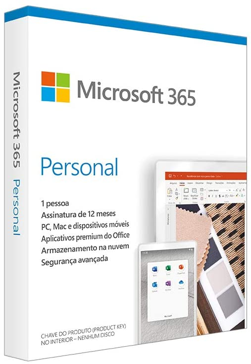 Microsoft 365 Personal 1 PC 32/64 Bits - QQ2-01017