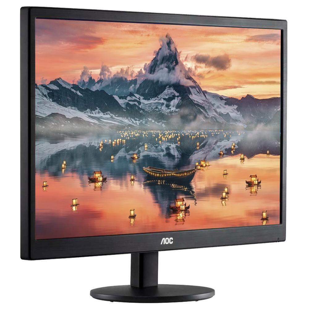 """Monitor AOC LED 18.5"""", HDMI/VGA, 5ms - E970SWHNL"""