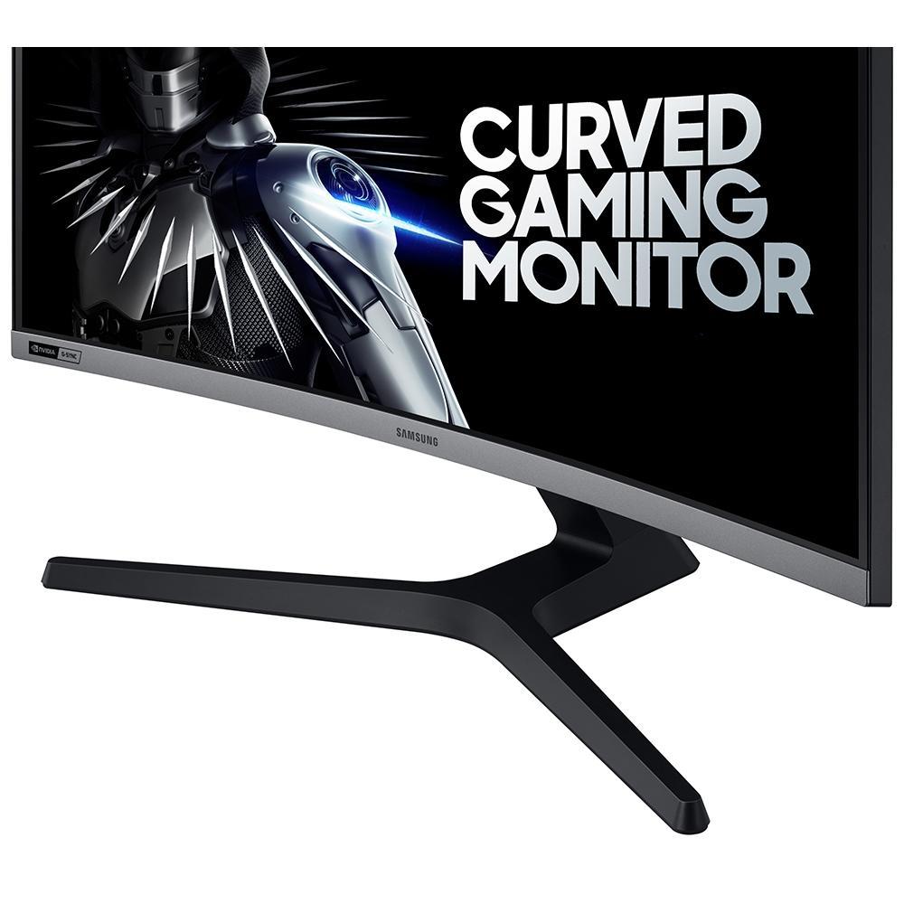 "Monitor Gamer Samsung 27"", Curvo, Full HD, HDMI/DisplayPort, GSync, 240Hz, Inclinação Ajustável - LC27RG50FQLXZD"