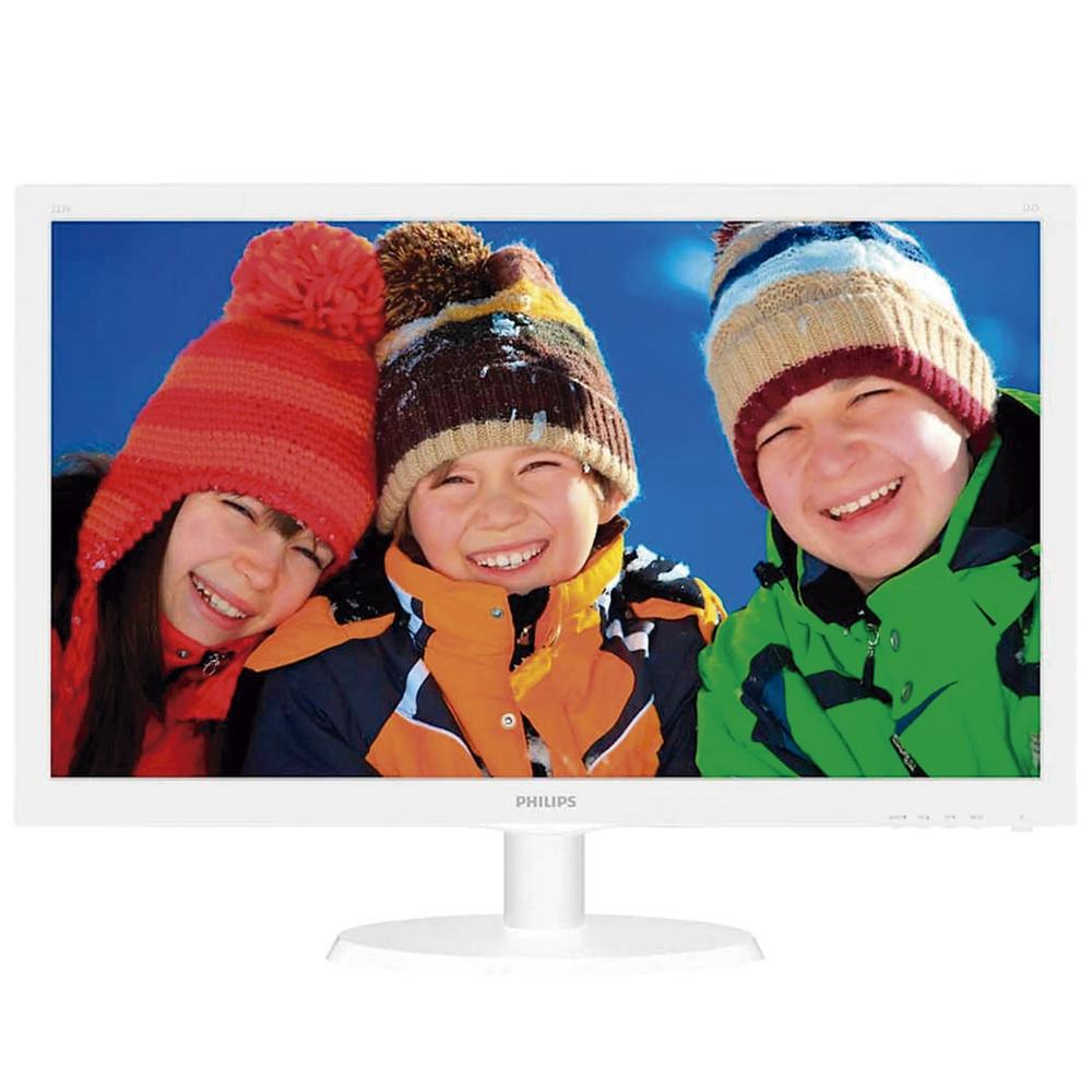 "Monitor Philips LED 21.5"", Full HD, Widescreen, HDMI, VGA - 223V5LHSW2"