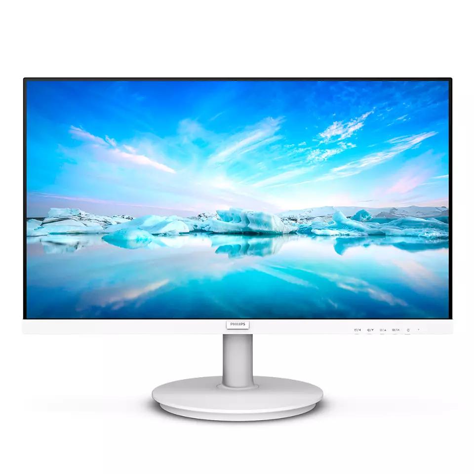 Monitor Philips WLED, 21,5 Polegadas, Full HD, HDMI, VGA, LowBlue - 221V8LW