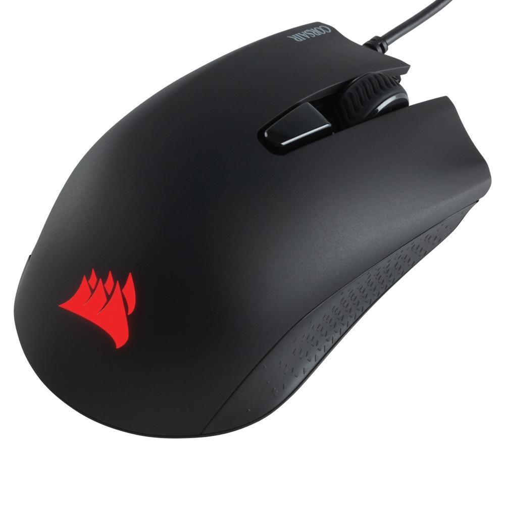 Mouse Gamer Corsair Harpoon PRO, RGB, 6 Botões, 12000DPI, Preto - CH-9301111-NA