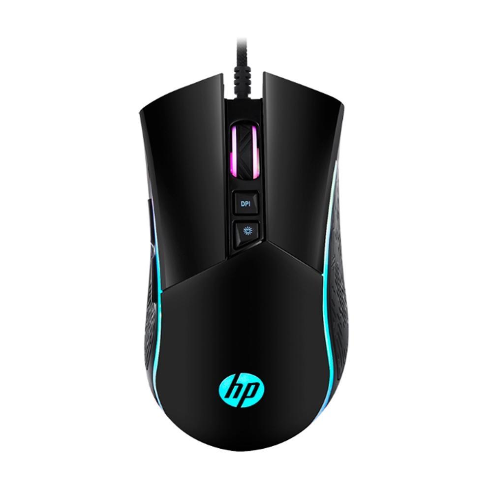 Mouse Gamer HP Gaming M220, RGB, 7 Botões, 4800 DPI - 1QW51AA#UUF
