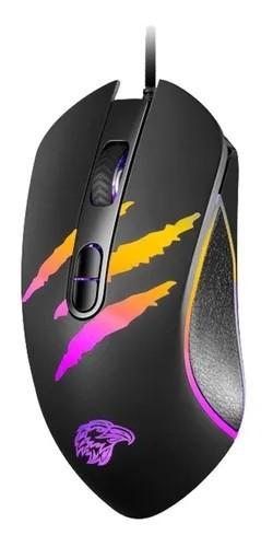Mouse Gamer K-Mex, Led RGB, 3200 DPI, Com 7 Botões - MO-YA37