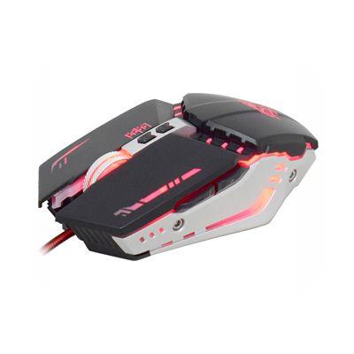 Mouse Gamer K-Mex M900, USB, 3200dpi, 1ms, Botões Programáveis, Iluminação LED em 4 cores - Preto