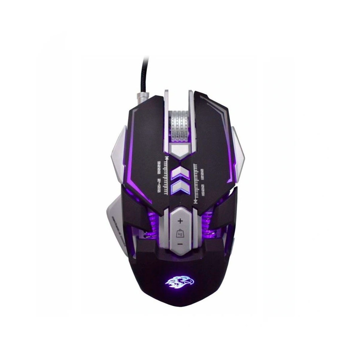 Mouse Gamer Mecânico, DPI 3200 e MousePad K-Mex - MO-D837