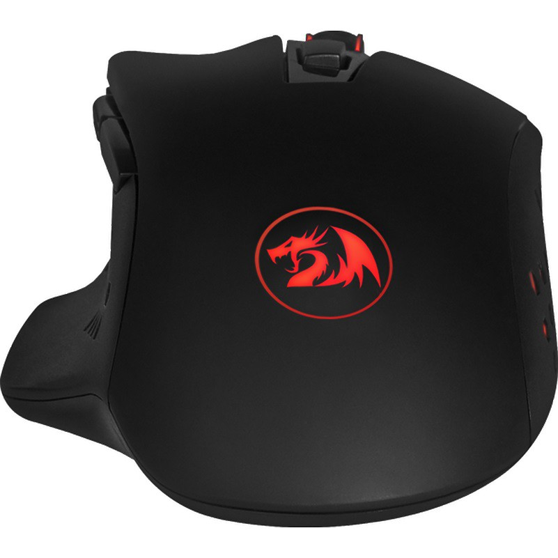 Mouse Gamer Redragon Gainer, 3200 DPI, 6 Botões, Black - M610