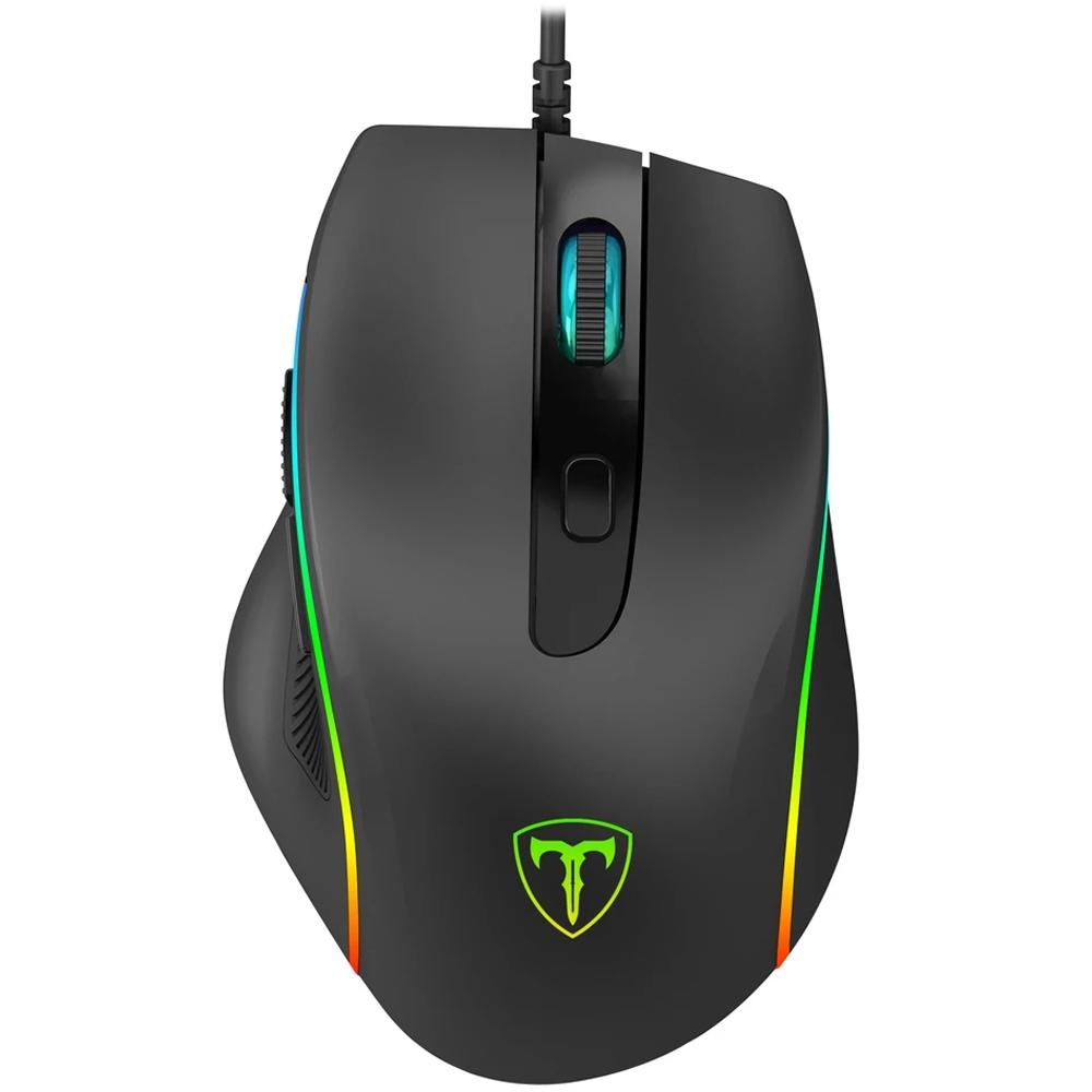 Mouse Gamer T-Dagger Recruit 2, RGB, 6 Botões, 3200DPI - T-TGM108