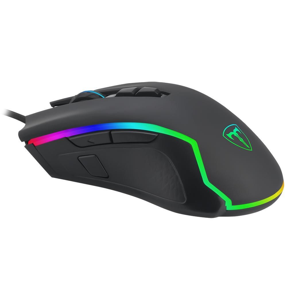 Mouse Gamer T-Dagger Second Lieutenant, RGB, 8 Botões, 8000DPI - T-TGM300