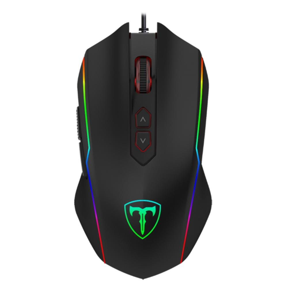 Mouse gamer T-Dagger Sergeant, RGB, 8 Botões, 4800DPI - T-TGM202