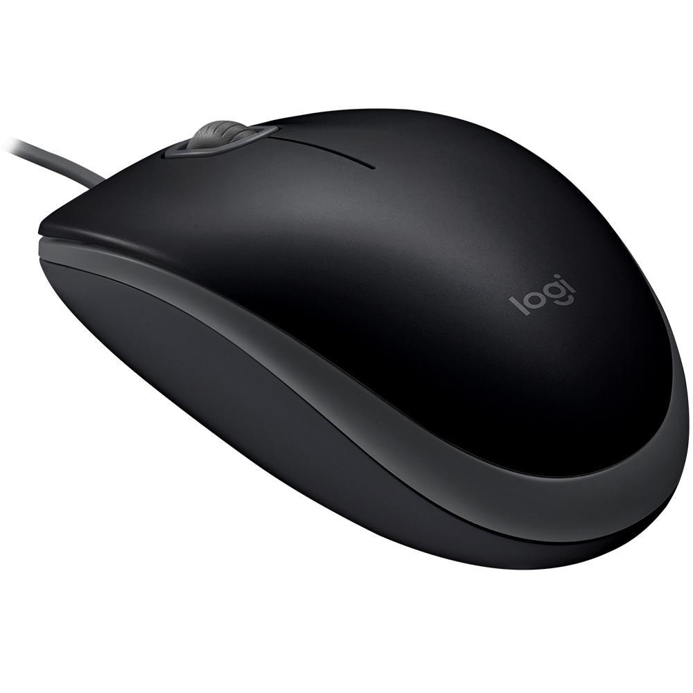 Mouse Logitech M110s com Clique Silencioso Preto - 910-005493